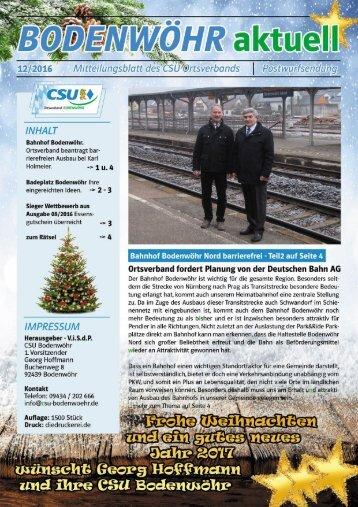 Bodenwöhr aktuell 12-2016
