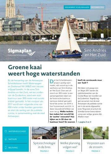 Nieuwsbrief Waterwegen en Zeekanalen - december 2016