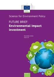 FUTURE BRIEF Environmental impact investment
