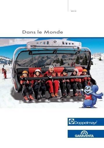 Doppelmayr/Garaventa Brochure annuelle 2010