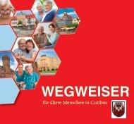 Wegweiser für ältere Menschen in Cottbus