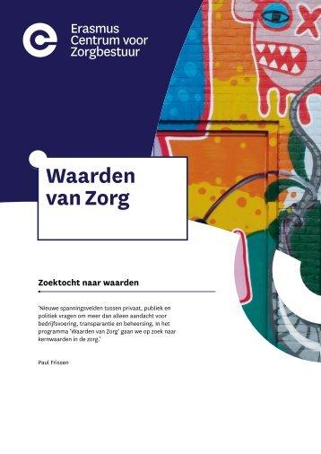 Brochure Waarden van Zorg
