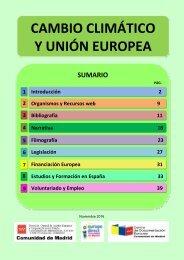 CAMBIO CLIMÁTICO Y UNIÓN EUROPEA