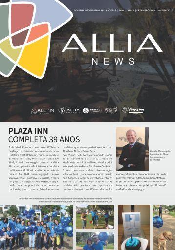 Jornal Allia News   Edição Dezembro-2016 - Janeiro-2017