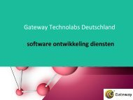 agile softwareentwicklung deutschland -gateway technolabs