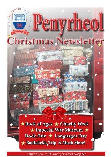2016 Christmas Newsletter