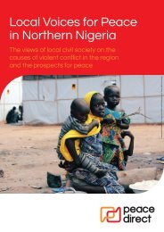 Local Voices for Peace in Northern Nigeria