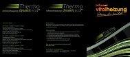 Infrarot vitalheizung Thermodynamic