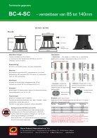 Buzon BC serie - drager overzicht - Page 6