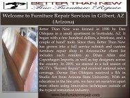 Furniture Restoration Surprise