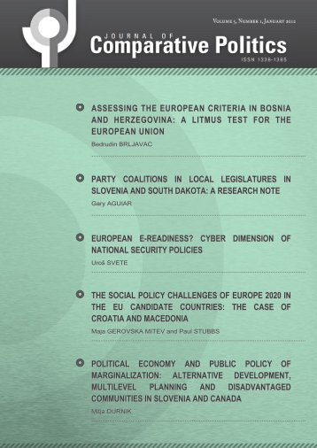european e-readiness? cyber dimension of national security policies