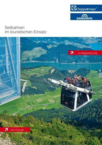 Seilbahnen im touristischen Einsatz [DE]