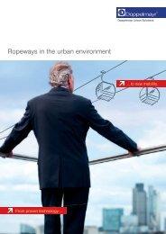Ropeways in the urban environment [EN]