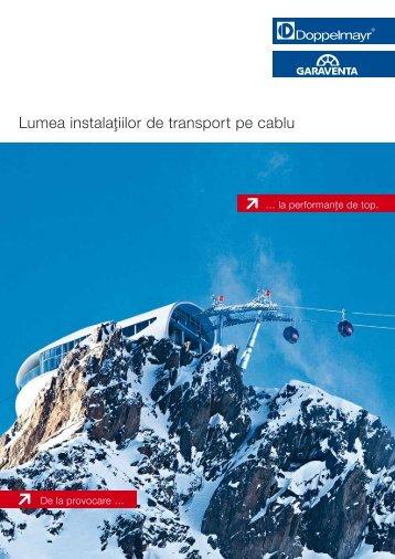 Lumea instalaţiilor de transport pe cablu [RO]