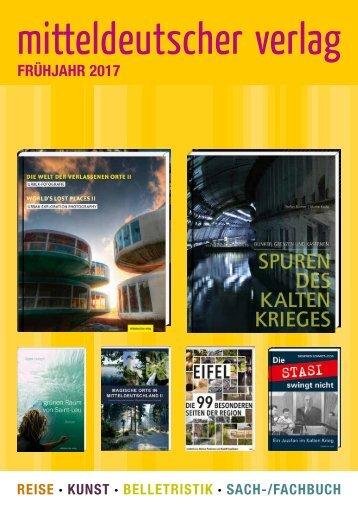 Mitteldeutscher Verlag – Frühjahr 2017 Katalog