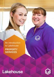 Lakehouse Introduction to PROPERTY SERVICES