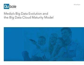 Media's Big Data Evolution and the Big Data Cloud Maturity Model