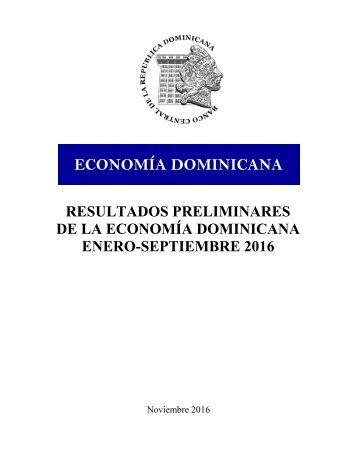 ECONOMÍA DOMINICANA