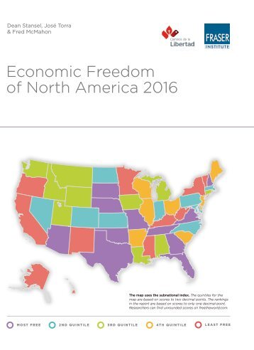 Economic Freedom of North America 2016