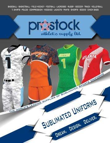 Prostock Sublimated catalog