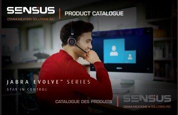 SENSUS 2017 Catalogue