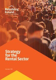 Strategy for the Rental Sector