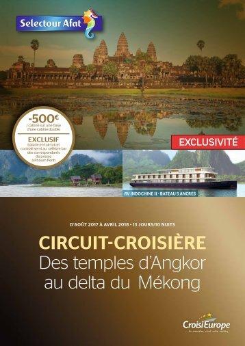 CIRCUIT-CROISIÈRE Des temples d'Angkor au delta du Mékong