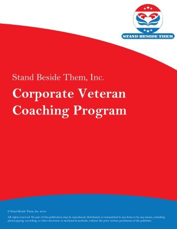 Corporate Veteran Coaching Program