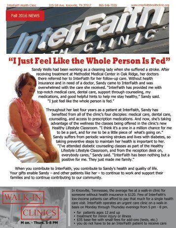 """""""I Just Feel Like the Whole Person Is Fed"""""""