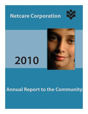 2010 Annual report FINAL.indd - Netcare Corporation