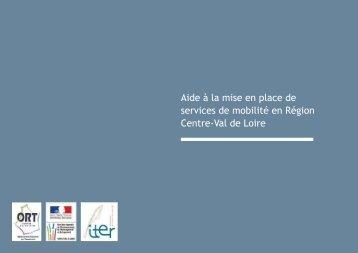 Aide à la mise en place de services de mobilité en Région Centre-Val de Loire