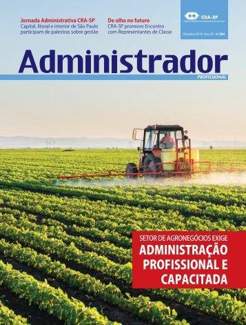 ADMINISTRAÇÃO PROFISSIONAL E CAPACITADA