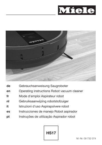 Miele Classic C1 Hardfloor EcoLine - SBAG1 - Istruzioni d'uso
