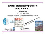 Towards biologically plausible deep learning