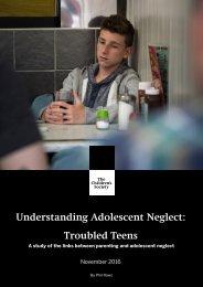 Understanding Adolescent Neglect Troubled Teens