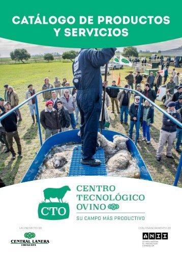 Catálogo de Productos y Servicios - Centro Tecnológico Ovino