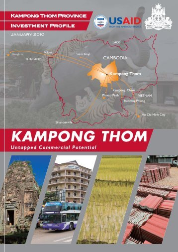 Kampong Thom Investment Profile - CAMBODIAMSME