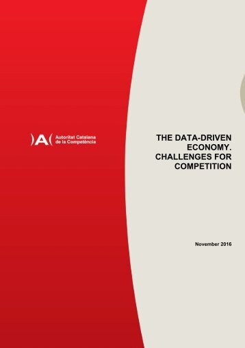 THE DATA-DRIVEN ECONOMY CHALLENGES FOR COMPETITION