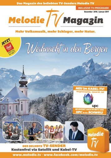 Melodie TV Magazin Dezember 2016 / Januar 2017