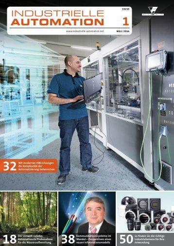 Industrielle Automation 1/2016