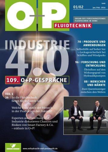 O+P Fluidtechnik 1-2/2016