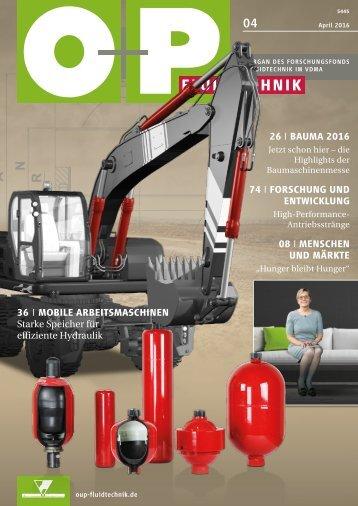 O+P Fluidtechnik 4/2016