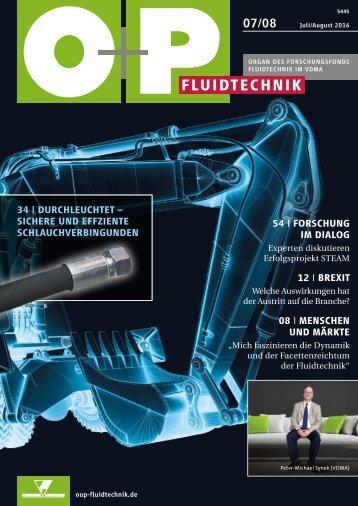 O+P Fluidtechnik 7-8/2016