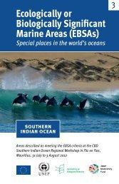 Marine Areas (EBSAs)