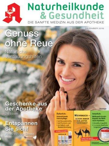 """Leseprobe """"Naturheilkunde & Gesundheit"""" Dezember 2016"""