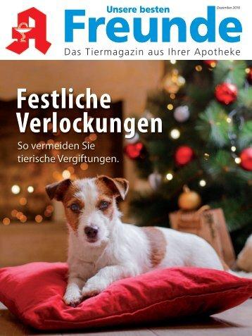 "Leseprobe ""Unsere besten Freunde"" Dezember 2016"