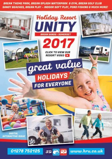 2017 Holiday Resort Unity Digital Brochure