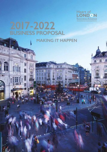 Heart of London Business Proposal 2017-2022