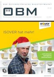 201612 ÖBM Der Österreichische Fachmarkt - ISOVER hat mehr!