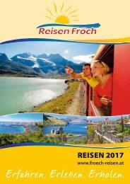 Reisen Fröch Katalog 2017